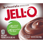 JELL-O Chocolate Instant Pudding Mix 3OZ 24-Pack