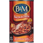 B&M Bacon & Onion Baked Beans 28OZ 12-Pack