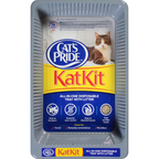 Cats Pride Cat Litter  With Katkit Disposable T 3LB 10-Pack